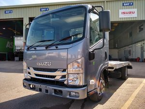 NEW ISUZU GRAFTERS WITH BEAVERTAIL BODIES IN STOCKEF BT15
