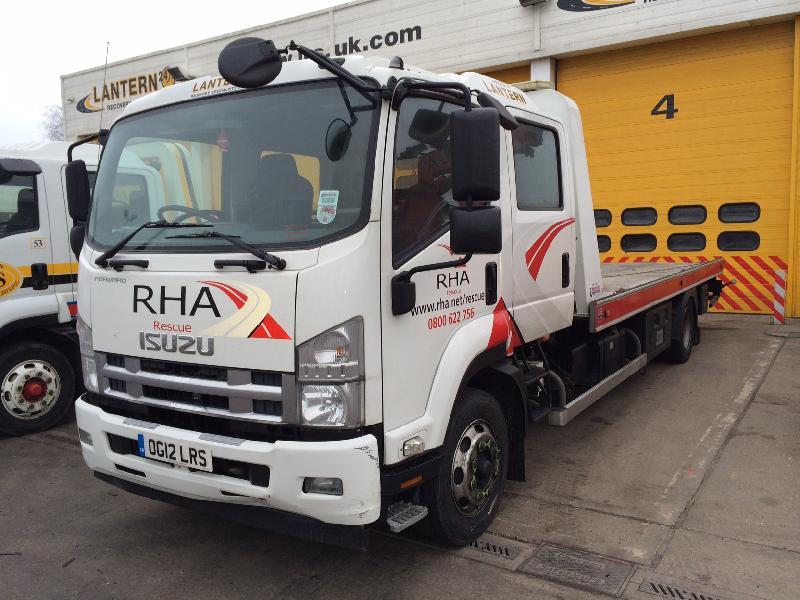 2012 '12' Isuzu F120.240 (Euro 4) 12 Ton Crewcab £31,995 PLUS VAT REF G72