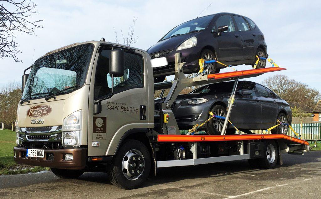 BULLDOG TWIN DECK CAR CARRIER 3,5000 Kgs Capacity