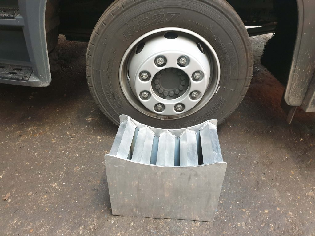 NEW DUAL HEIGHT ALUMINIUM WHEEL STANDS REF WS7