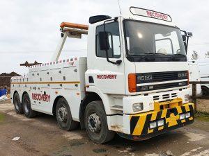 V REG DAF CF 380 8 X 4 HEAVY RECOVERY VEHICLE £34,950 PLUS VAT REF H48