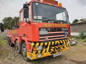 K REG DAF 95 400 ATI STGO 2 RECOVERY VEHICLE £28,500 PLUS VAT REF H50